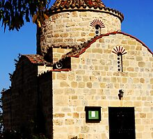 Saint George Makris church by Elly Rousou