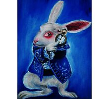 White Rabbit Photographic Print