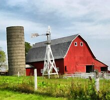 Farm Scene by Linda Miller Gesualdo