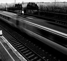 I'll Wait in the Queue When the Trains Come Back by Mandy Kerr