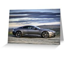 Aston Martin DBS Greeting Card