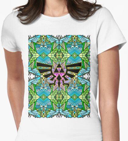 Hylian Royal Crest - Legend Of Zelda - Pattern Womens Fitted T-Shirt