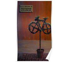 Static Motion bike Poster