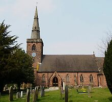 Upton Parish Church, Chester UK by AnnDixon