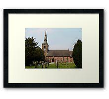 Upton Parish Church, Chester UK Framed Print