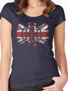 HH Union Jack Women's Fitted Scoop T-Shirt