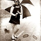 Umbrella Girl by oddoutlet