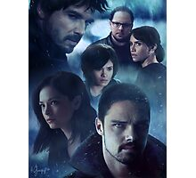 S3 illustration with rainy ambience Photographic Print