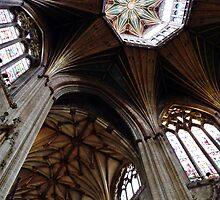 Octagonal Lantern, Ely Cathedral by artfulvistas