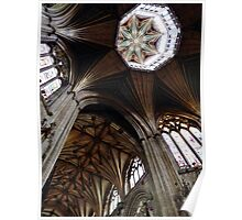 Octagonal Lantern, Ely Cathedral Poster