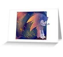 Sonic and the butterfly Greeting Card