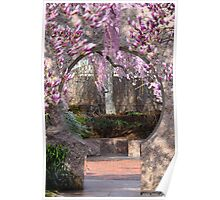 Chinese Moongate Garden Poster