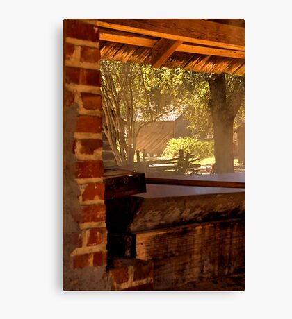 At the Syrup House Canvas Print
