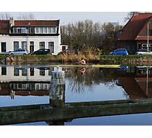 water mirror rower... Photographic Print