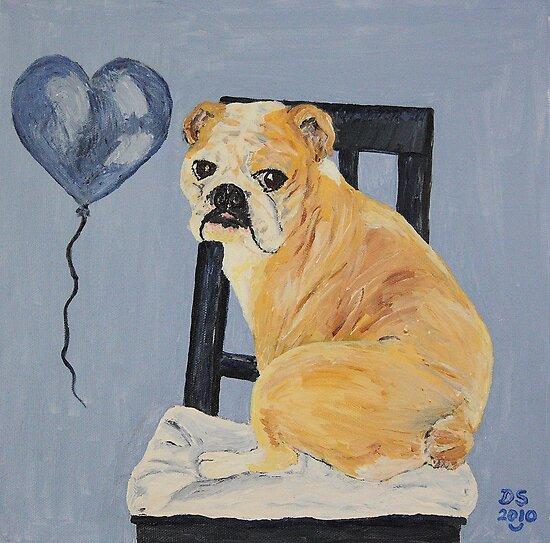 Bulldog Madeline by sandidobe