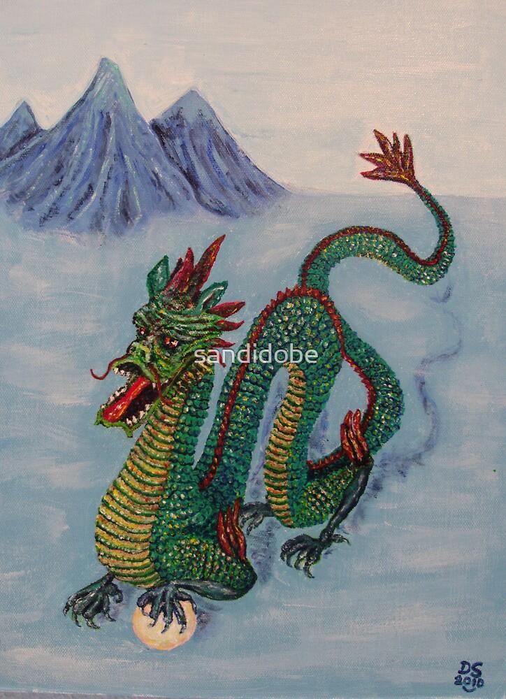 Chinese Destiny Dragon by sandidobe