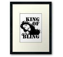 Charles II - King of Bling Framed Print