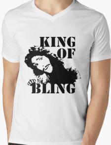 Charles II - King of Bling Mens V-Neck T-Shirt