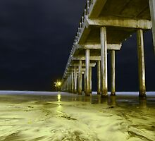 Scripps pier side view by rvd5star