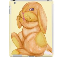 Bunny Lumpkins Cleans Their Ears iPad Case/Skin
