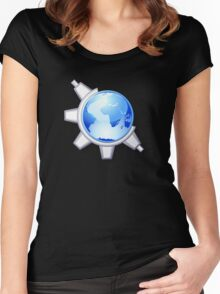 KoquerorCrystalIcon Women's Fitted Scoop T-Shirt