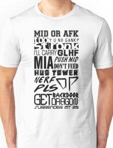 League Of Legends Unisex T-Shirt