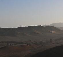 The Valley of the Tombs, Syria by MarcW