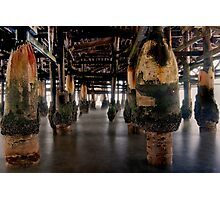 Under The Crystal Pier Photographic Print