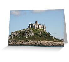 St Michael's Mount I Greeting Card