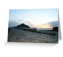 St Michael's Mount II Greeting Card