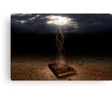 The Magic book Canvas Print