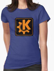 KoquerorOrangeIcon Womens Fitted T-Shirt