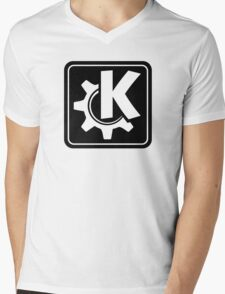 KoquerorBlackIcon Mens V-Neck T-Shirt
