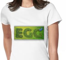 Egg Spring Easter T-Shirt Womens Fitted T-Shirt