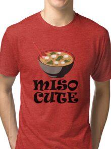 MISO CUTE Tri-blend T-Shirt