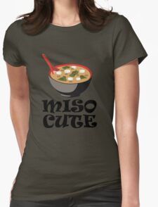 MISO CUTE Womens Fitted T-Shirt