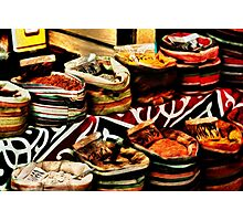 Spice Market in Cairo, Egypt Photographic Print