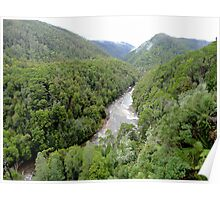 Franklin - Gordon Wild Rivers National Park, Tasmania Poster