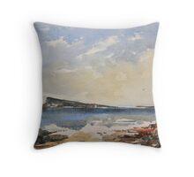 Easdale island Throw Pillow