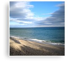 Waves from Bulgaria Canvas Print