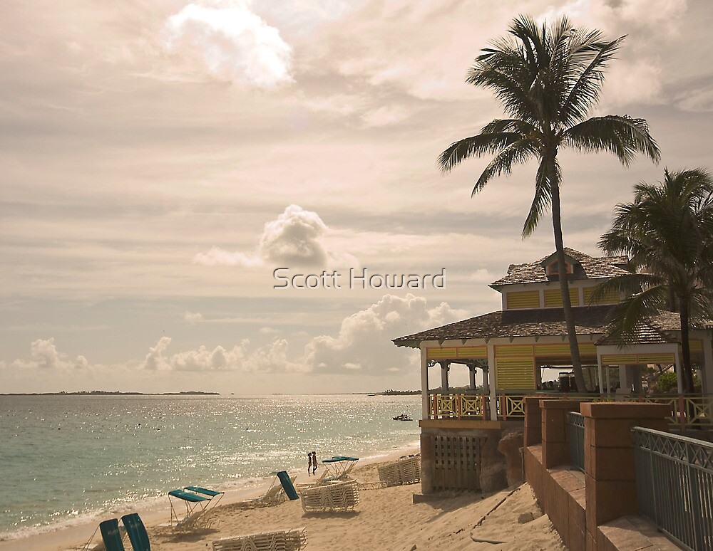 My Favourite Bar On The Beach by Scott Howard
