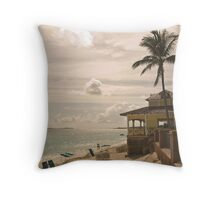 My Favourite Bar On The Beach Throw Pillow
