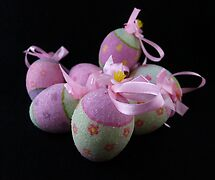 Easter Eggs by Barbara Morrison