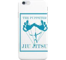 The Puppeteer Jiu Jitsu Blue  iPhone Case/Skin