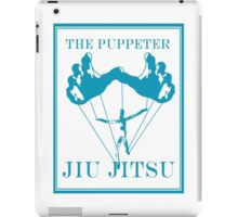 The Puppeteer Jiu Jitsu Blue  iPad Case/Skin