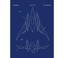 Star Fox Pilot Zero Photographic Print