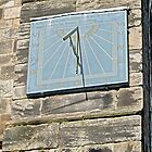 Vertical Sundial on St Mary's Church, Tutbury by Rod Johnson
