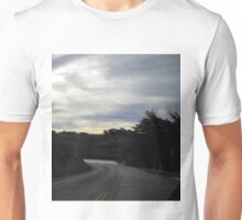 sunset road Unisex T-Shirt