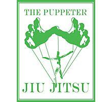 The Puppeteer Jiu Jitsu Green  Photographic Print