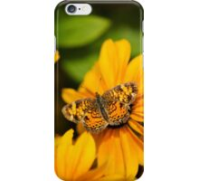 Pearl Crescent Butterfly Art iPhone Case/Skin